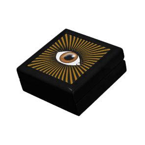 Brown Solar Eye Gift Box