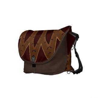 Brown Southwestern Messenger Bag