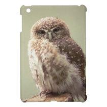 Brown Speckled Owl iPad Mini Case