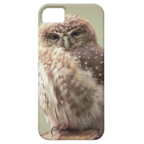 Brown Speckled Owl iPhone SE/5/5s Case