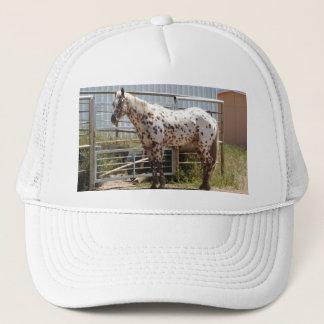 Brown spotted Appaloosa horse Trucker Hat