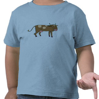 Brown Spotted Cow T Shirts