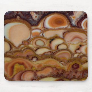 Brown Spotted Onyx Mouse Pad