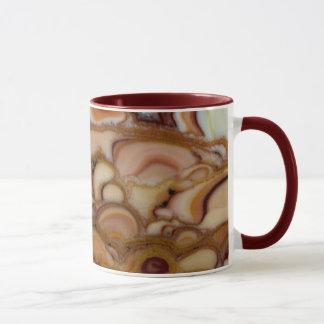 Brown Spotted Onyx Mug