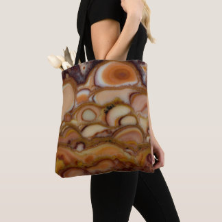 Brown Spotted Onyx Tote Bag