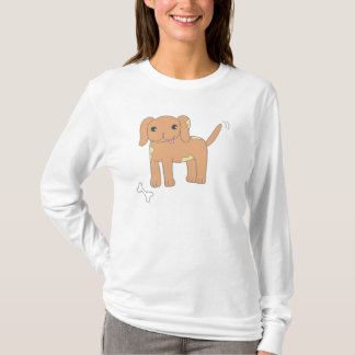 Brown Spotted Puppy Dog T-Shirt