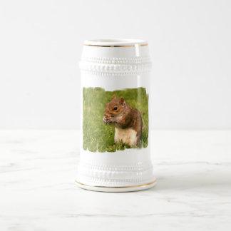 Brown Squirrel Beer Stein Mugs