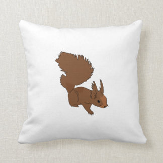 Brown Squirrel Pillow
