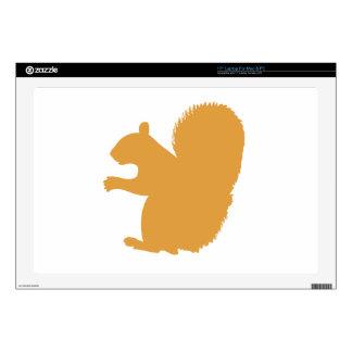 """Brown Squirrel 17"""" Laptop Skin"""