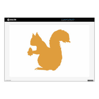 Brown Squirrel Decal For Laptop