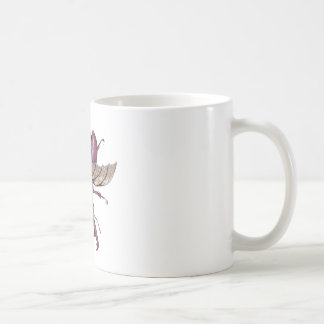 Brown Stag Beetle Coffee Mug