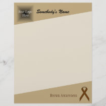 Brown Standard Ribbon
