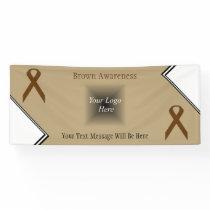 Brown Standard Ribbon by Kenneth Yoncich Banner