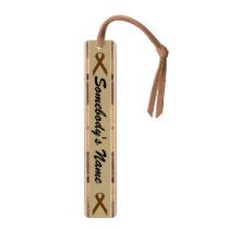 Brown Standard Ribbon by Kenneth Yoncich Bookmark