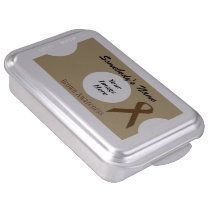 Brown Standard Ribbon by Kenneth Yoncich Cake Pan