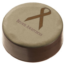 Brown Standard Ribbon by Kenneth Yoncich Chocolate Covered Oreo