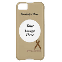 Brown Standard Ribbon by Kenneth Yoncich iPhone 5C Cover