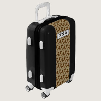 Brown Standard Ribbon by Kenneth Yoncich Luggage