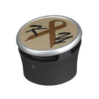 Brown Standard Ribbon by Kenneth Yoncich Speaker