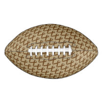 Brown Standard Ribbon Football