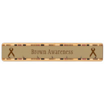 Brown Standard Ribbon Key Rack