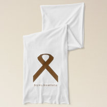 Brown Standard Ribbon Scarf