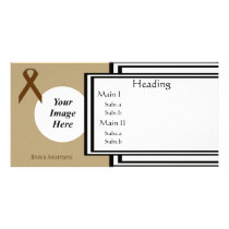 Brown Standard Ribbon Template