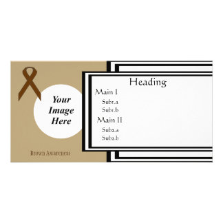 Brown Standard Ribbon Template
