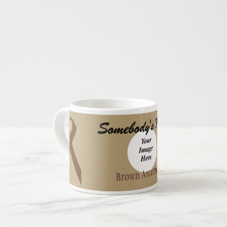 Brown Standard Ribbon Template by Kenneth Yoncich Espresso Cup