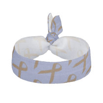 Brown Standard Ribbon Template by Kenneth Yoncich Ribbon Hair Tie