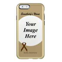 Brown Standard Ribbon Template Incipio Feather Shine iPhone 6 Case