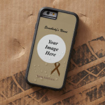 Brown Standard Ribbon Tmpl by Kenneth Yoncich Tough Xtreme iPhone 6 Case