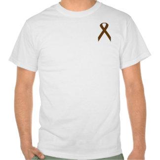 Brown Standard Ribbon Tshirts