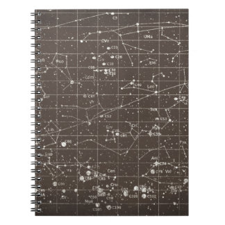 BROWN STARS GALAXIES FANTASY BACKGROUND WALLPAPERS NOTEBOOK