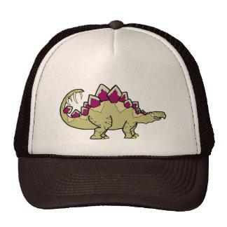 Brown Stegosaurus Mesh Hats