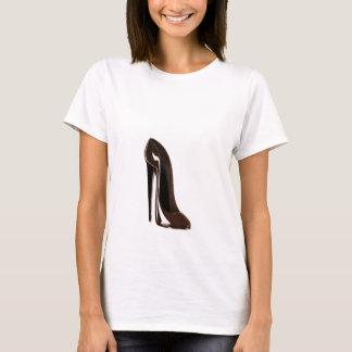 Brown Stiletto Shoe T-Shirt