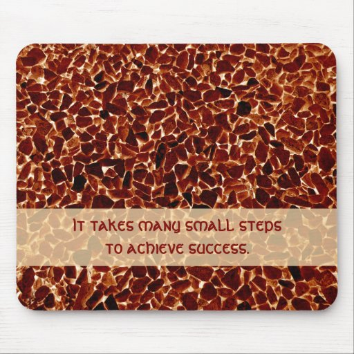 Brown Stones Textured Mousepad