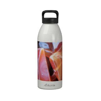 brown stones water bottle