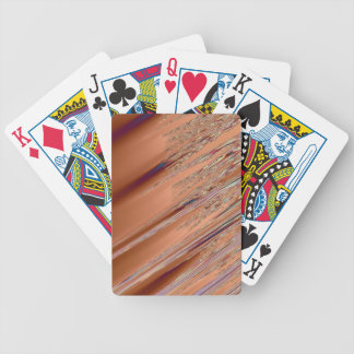 Brown Striker Playing Cards