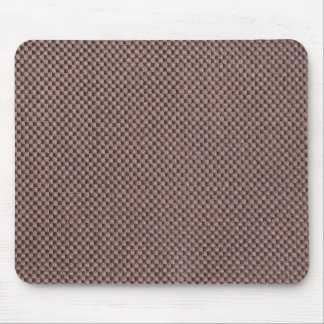 Brown strings and gray base mouse pad