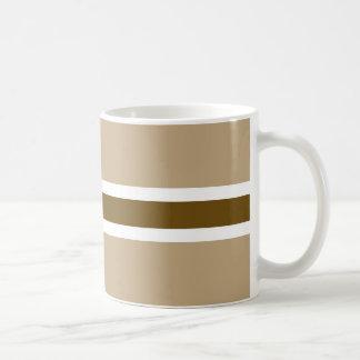 Brown Stripe Classic Mug