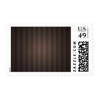 Brown Striped Background Postage Stamps