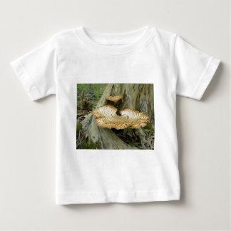 Brown Striped Shelf Fungus Coordinating Items T-shirts