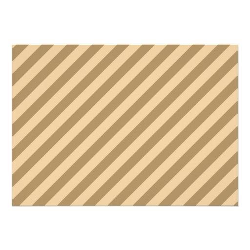 Brown Stripes. Announcement