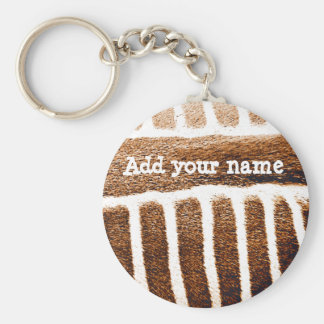 Brown Stripes_ Keychain