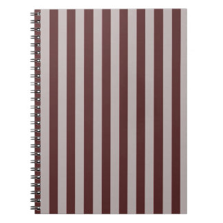 Brown Stripes Notebook