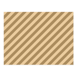 Brown Stripes. Postcard