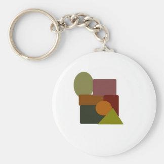 brown stuff 2 basic round button keychain