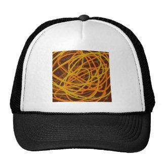 brown stuff trucker hat