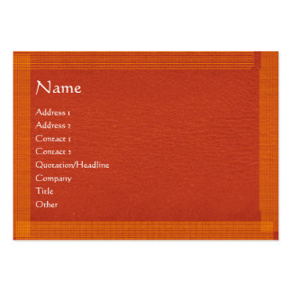 Brown Stylish Border n Surface Business Card Template